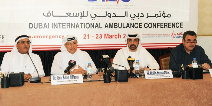 Dubai International Ambulance Conference to be Hosted in Dubai Next March
